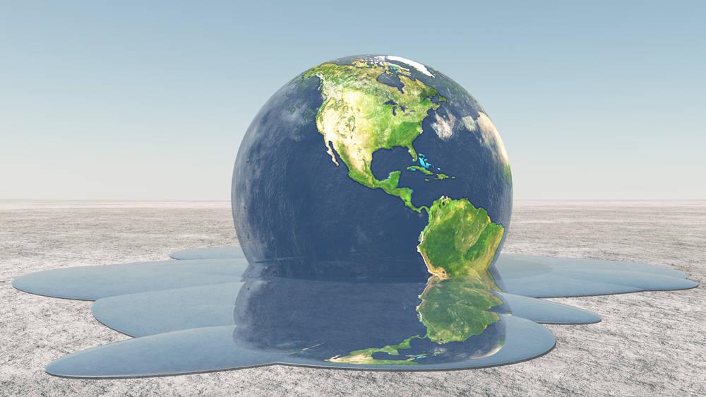 Demasiado calor en un planeta colapsado