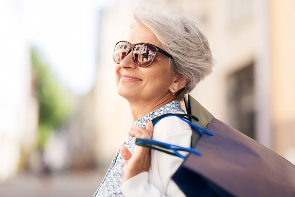 Las personas mayores también apuestan por la moda y la belleza